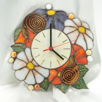 """часовник""""Цветя с охлюви"""""""