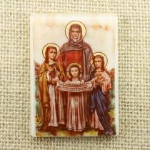 Икона Св. Мъченици Вяра, Надежда, Любов и майка им София (2)