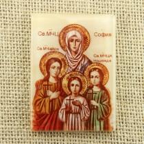 Икона Св. Мъченици Вяра, Надежда, Любов и майка им София (1)