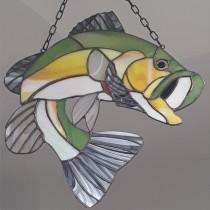 "витражно пано ""Риба"""